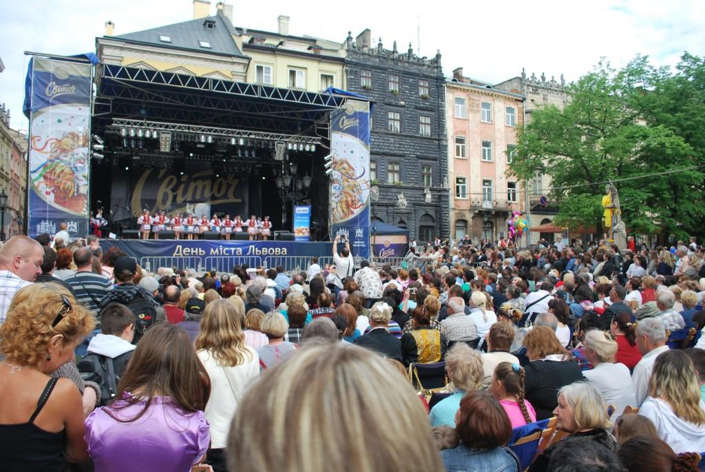 День міста Львова. Концерт на площі Ринок